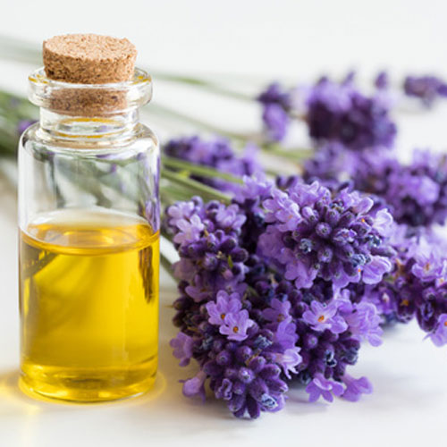 Skin Care Products with organic lavender essential oils