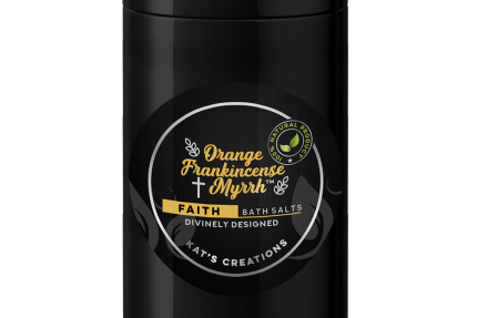 For a meditative bath, try Orange Frankincense Myrrh Bath Salts