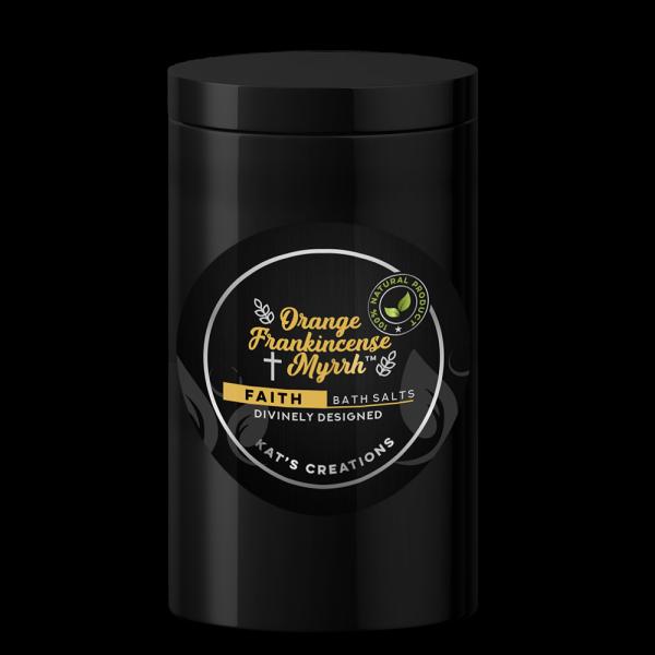 For a meditative bath, try Orange Frankincense Myrrh Bath Salts
