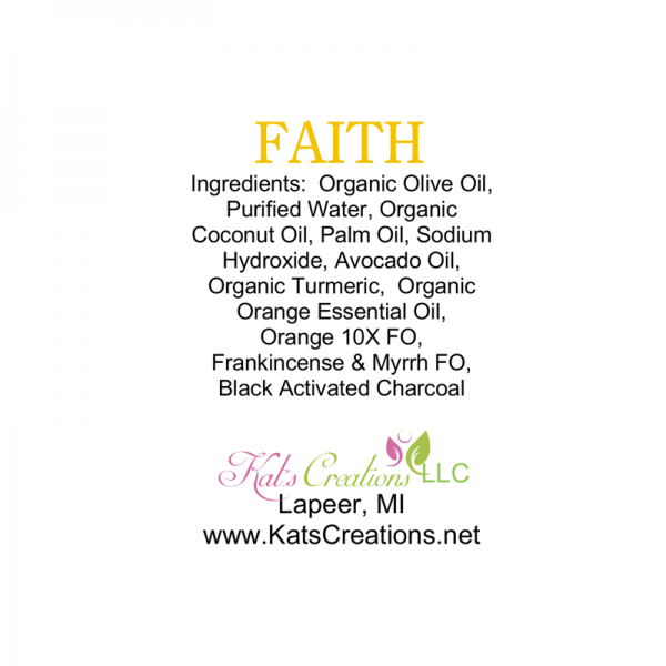 Faith Soap Label