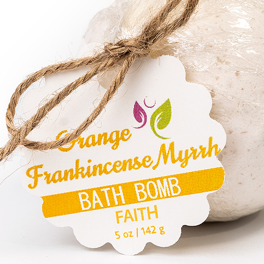 Faith Bath Bomb – Orange Frankincense Myrrh