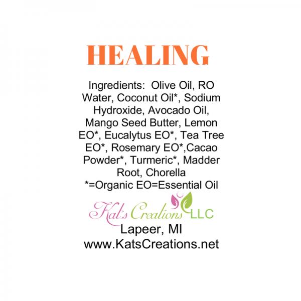 Healing Soap Label