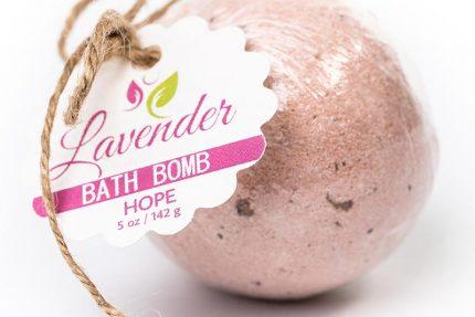 Hope Bath Bomb – Lavender Anti-Aging 5oz