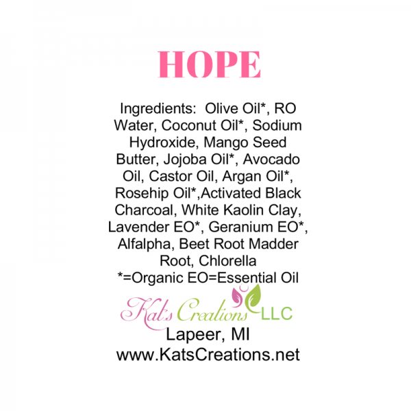 Hope Soap Label