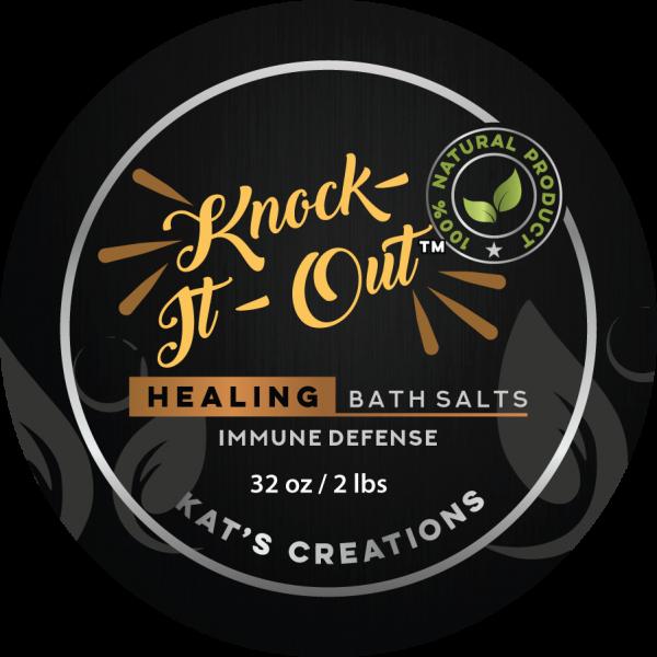 Knock It Out Bath Salts