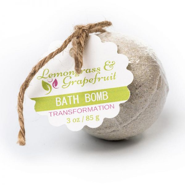 Transformation Bath Bomb – Lemongrass Grapefruit 3oz