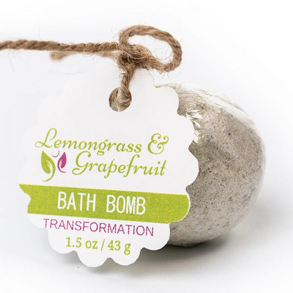 Transformation Bath Bomb – Lemongrass Grapefruit 1.5oz