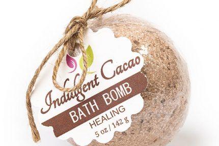 HEALING Bath Bomb - Immune Defense - Indulgent Cacao