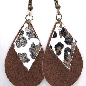 Leather/Suede Diffuser Earrings