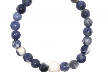 Sodalite Beaded Bracelet for sale online