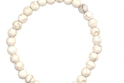 Petite Howlite Bracelet