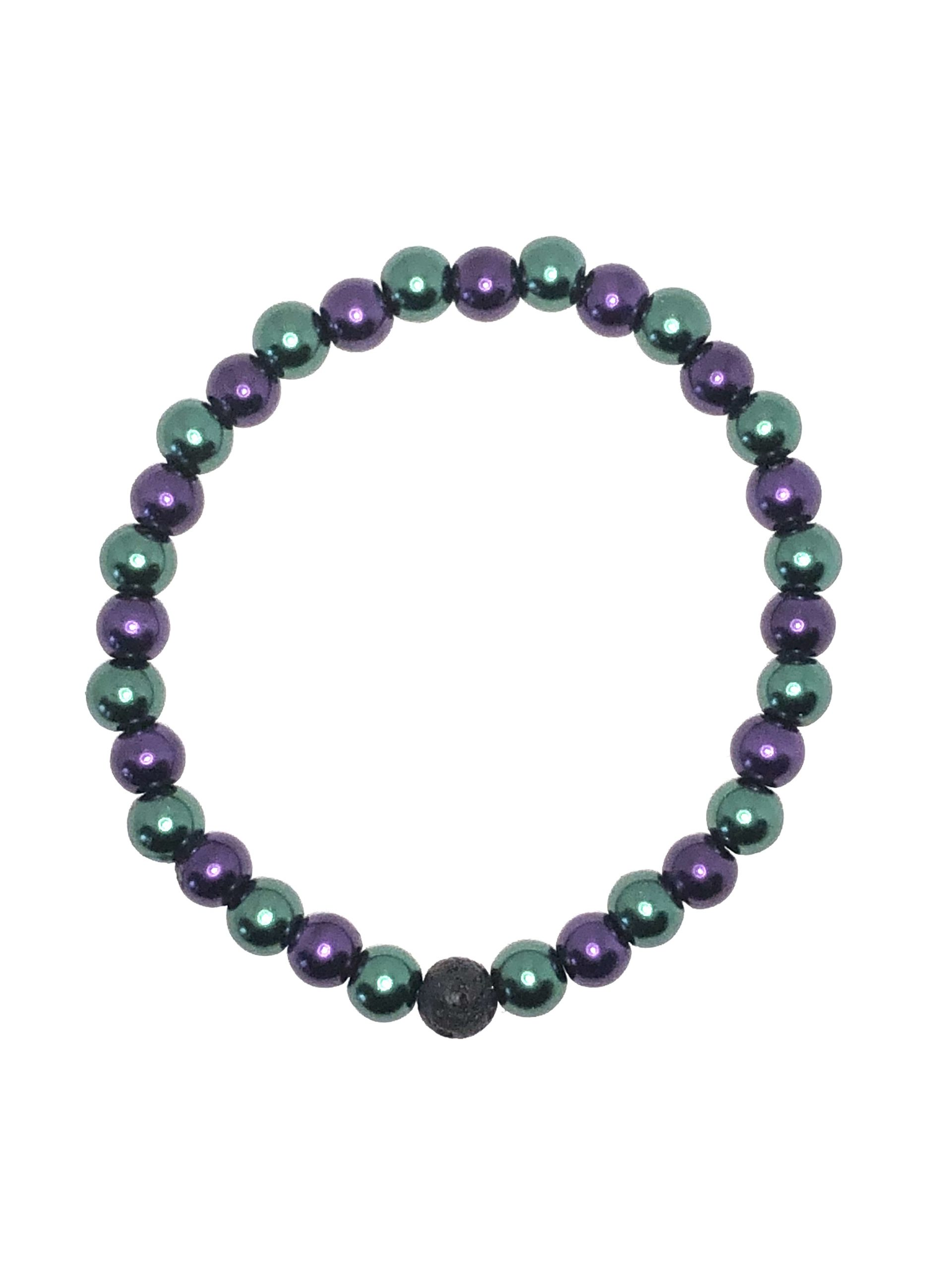 Green and Purple Bracelet on sale online