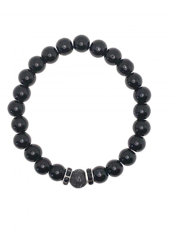 Black Jasper Diffuser Bracelet for sale online