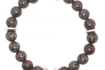 Brown Snowflake Jasper Differ Bracelet for sale online