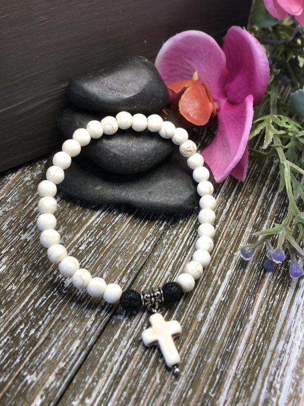 Inspirational Cross Charm bracelet for sale online