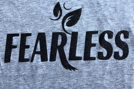 Fearless closeup