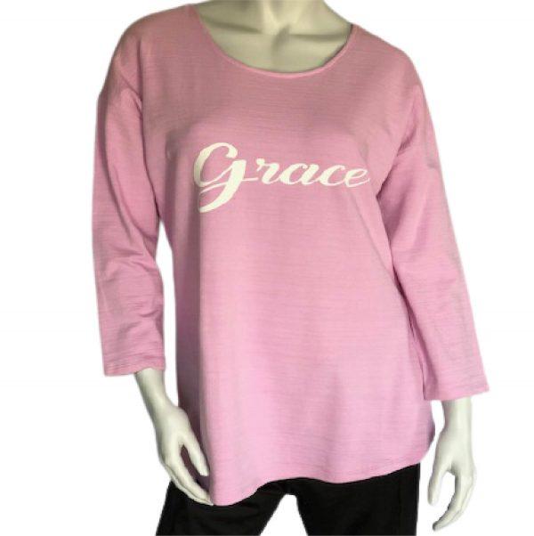 Grace lavender 3/4 length sleeve