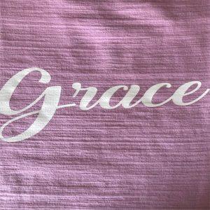 Grace lavender 3/4 length sleeves