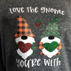 Love the Gnome you're with Crew neck Long Sleeve T-shirt