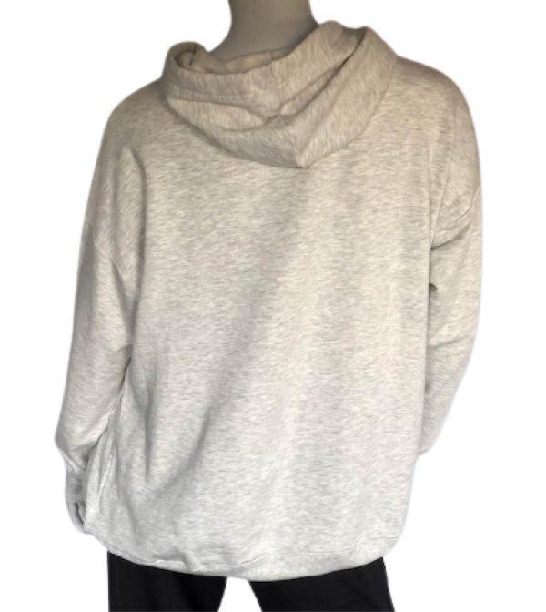 Lt Heather Grey Courageous Pullover hoodie sweatshirt