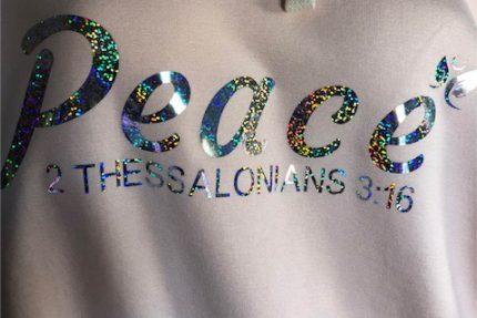 Peace Closeup logo