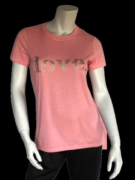 pink love tee