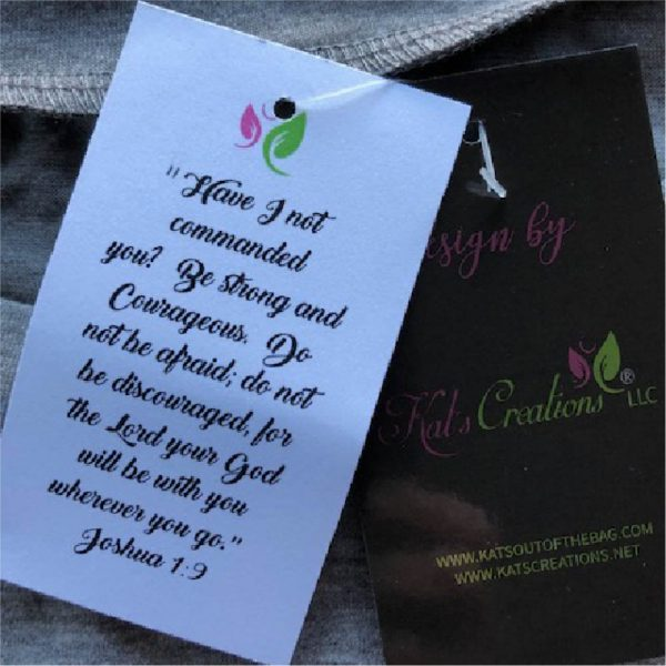 Be Strong and Courageous tags