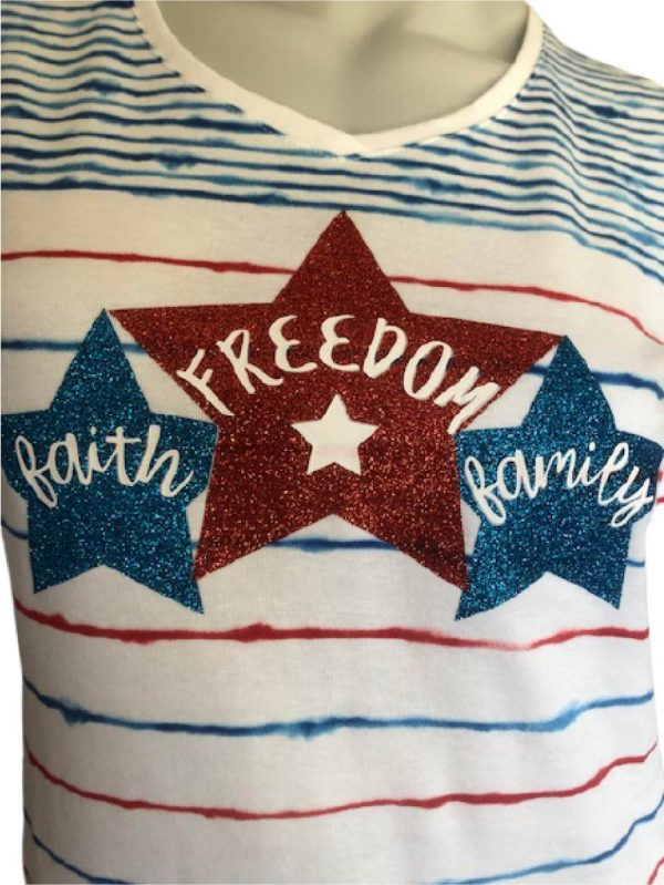 faith-family-freedom short sleeve t-shirt